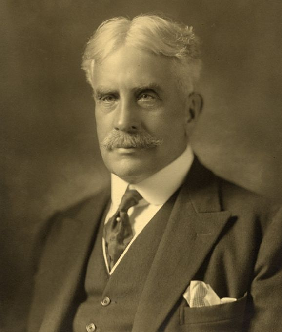 The Right Honourable Prime  Minister Sir Robert Borden is related to  Lizzie Borden, the axe murderer from Fall River, Massachusetts. They are related by having a common relative, who is Richard Borden. This would make Prime Minister Sir Robert Borden  and Lizzie Borden third or fourth cousins. Yikes!