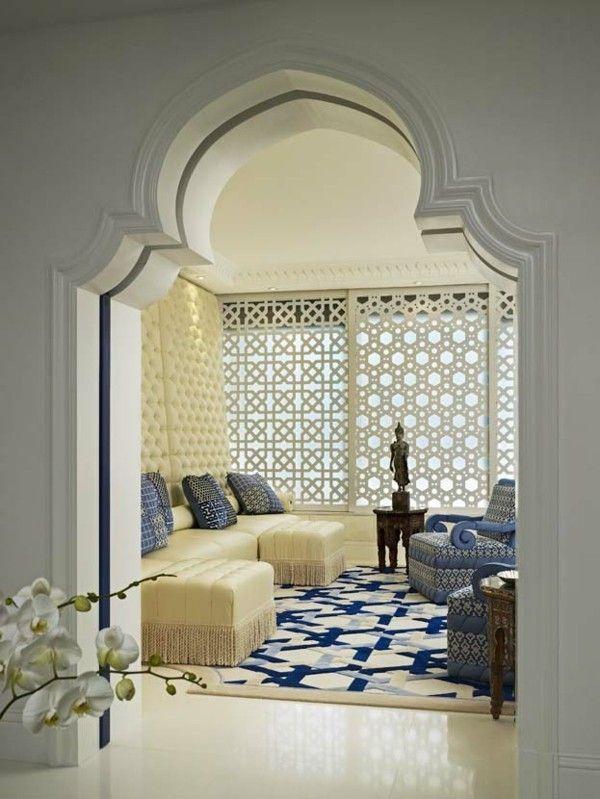 Orientalisch Einrichten 50 Fabelhafte Wohnideen Wie Aus 1001 Nacht Luxus Interieur Marokkanische Wohnzimmer