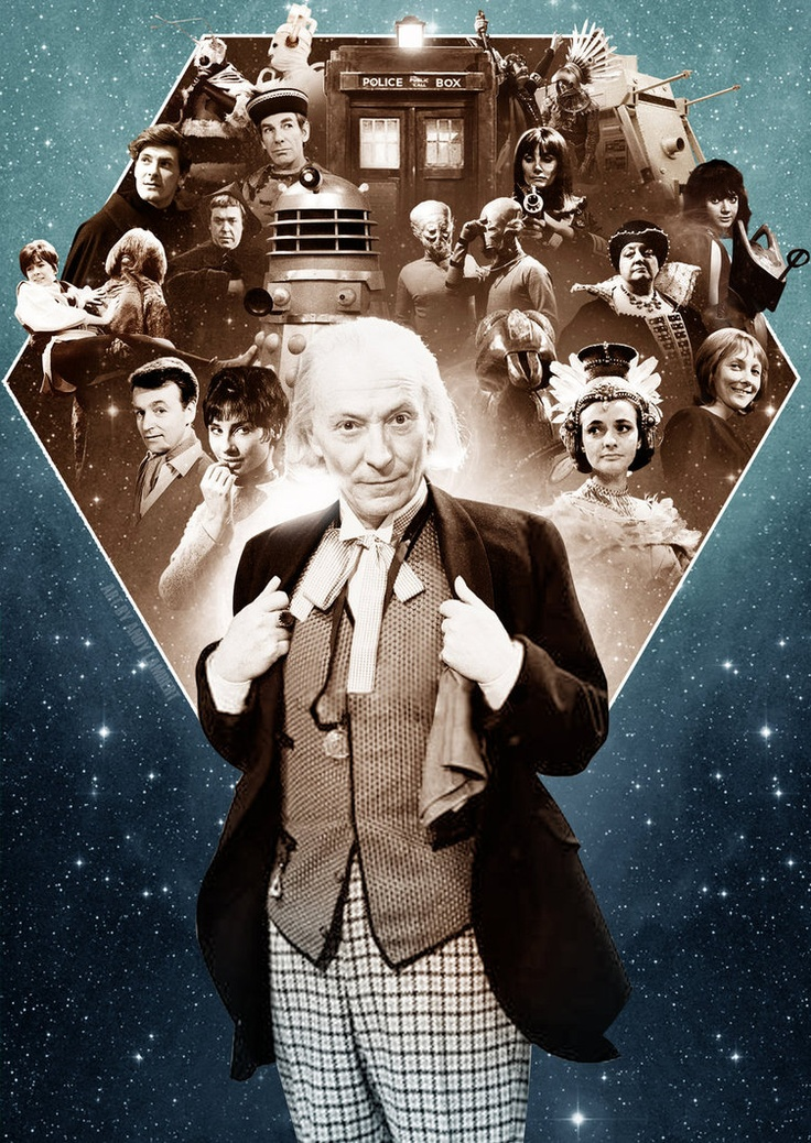 THE WILLIAM HARTNELL YEARS by ~DV8R71 on deviantART  1963-1966