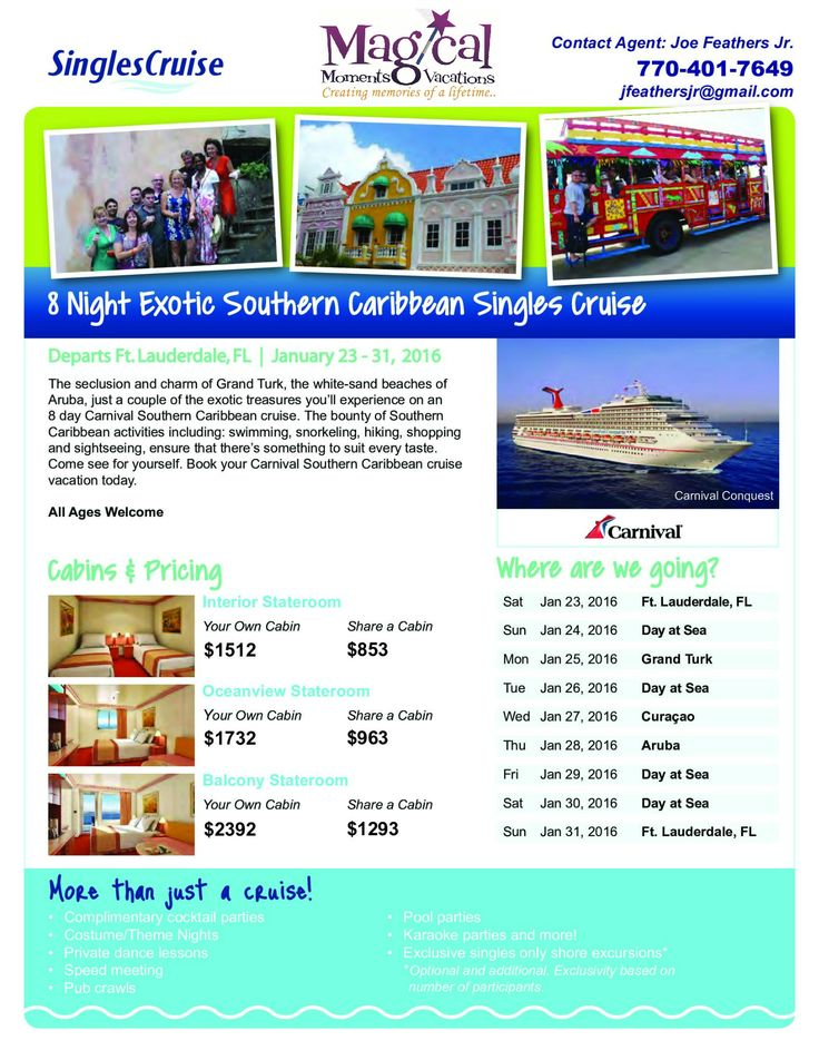 how to plan for youe cruise