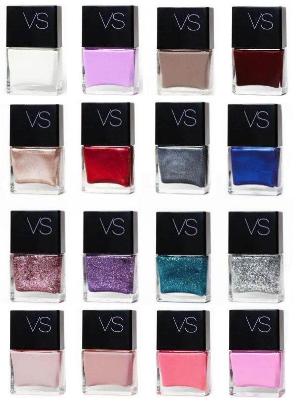 Victoria's Secret nail colors 2013