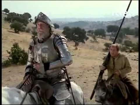 El Ingenioso Hidalgo Don Quijote de la Mancha: cabalgando en Rocinante.