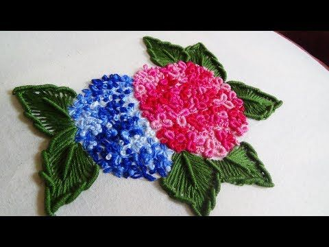 Hand Embroidery: Tailed Chain Stitch - YouTube