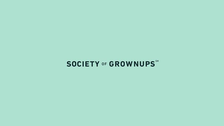 Society of Grownups