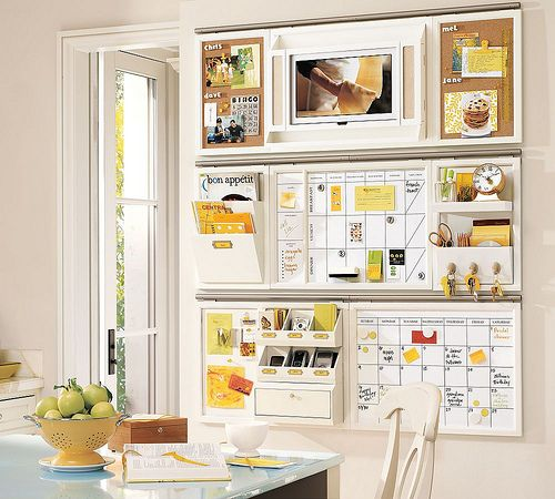 organization ideas for home | Here it is in my studio. Of course, it doesn't always look this ...