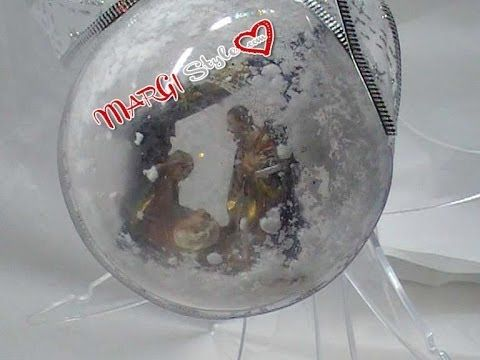 Tutorial su come decorare in modo semplice e naturale una sfera in plexiglass. Tutto questo ed altro su www.margistyle.com