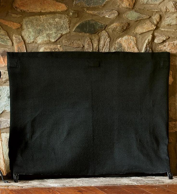 Pavenex Fireplace Blanket Stops Overnight Heat Loss