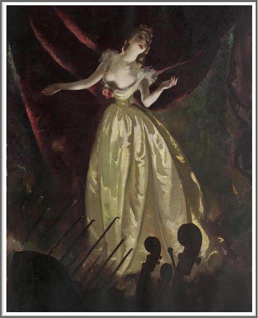 Doris Clare Zinkeisen (1898-1991), Corner of the Café Royal.