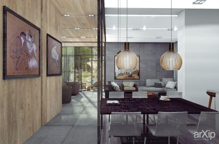 Дизайн квартиры #interiordesign #housing #loft #openspace #80_100м2 #fireplace #stove