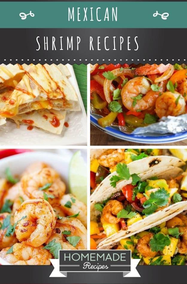 Succulent Mexican Shrimp Recipes | Homemade Recipes | https://homemaderecipes.com/10-mexican-shrimp-recipes/