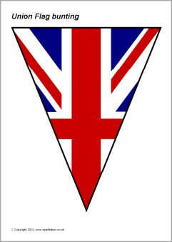 Union Flag bunting (SB8117) - SparkleBox