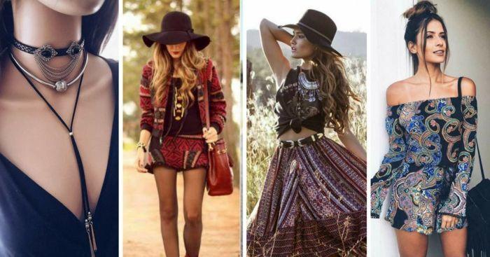 2d61fabdd ▷ 1001 + ideas sobre diseños de vestidos boho chic | ropa | Boho ...