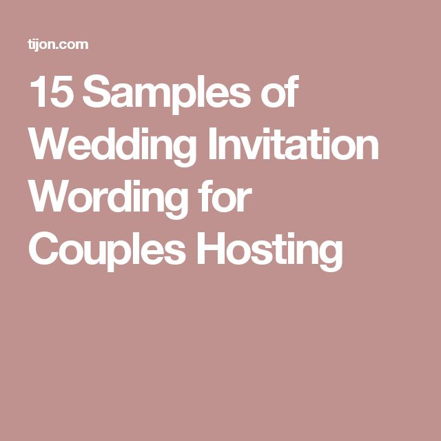 The 25+ best Sample of wedding invitation ideas on Pinterest - invitation event sample