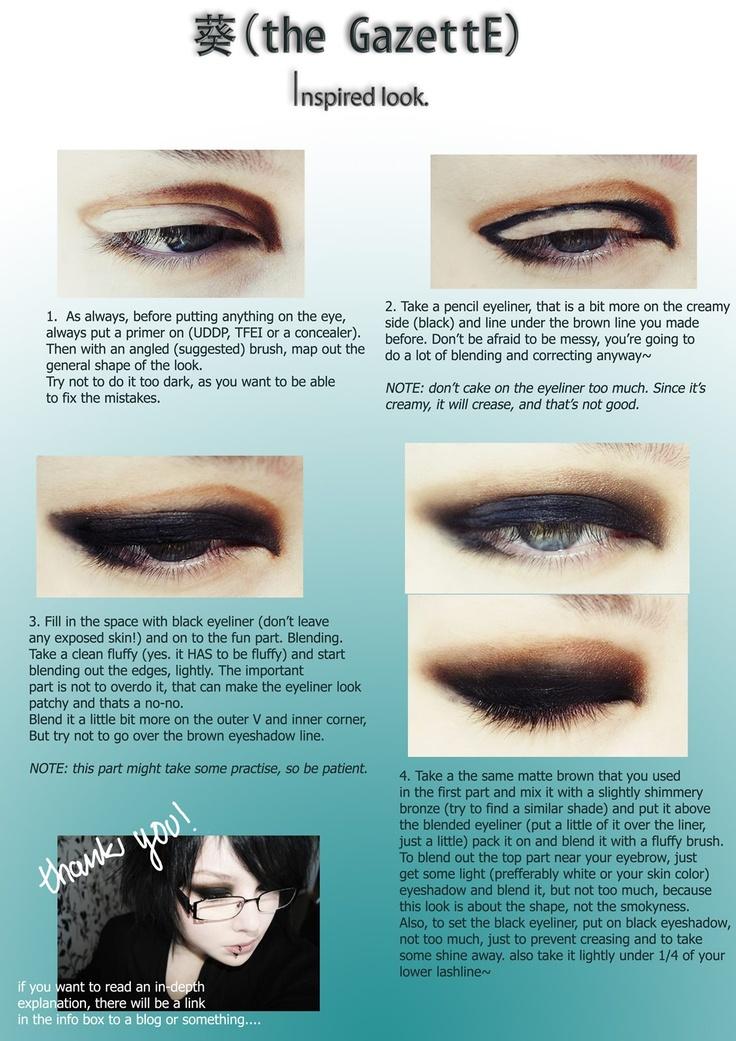 Oog make up tutorial!