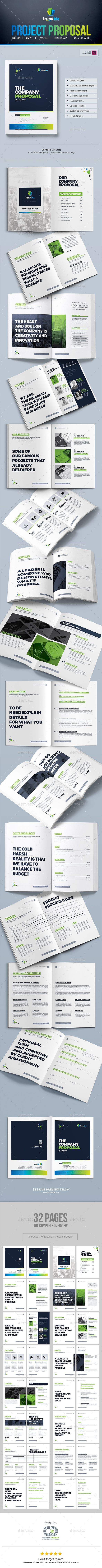 Proposal Template #Design | Project #Proposal | Quotation Template - Proposals & #Invoices Stationery Download here: https://graphicriver.net/item/proposal-template-design-project-proposal-quotation-template/19487580?ref=alena994