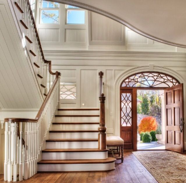 Foyer And Entryways Usa : Best entry staircase hallways images on pinterest