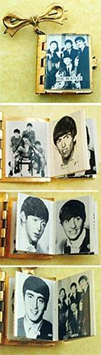 1960's Beatles Souvenir photo album book pin ~ FAB!! • www.ebay.com/…Vikto Lap