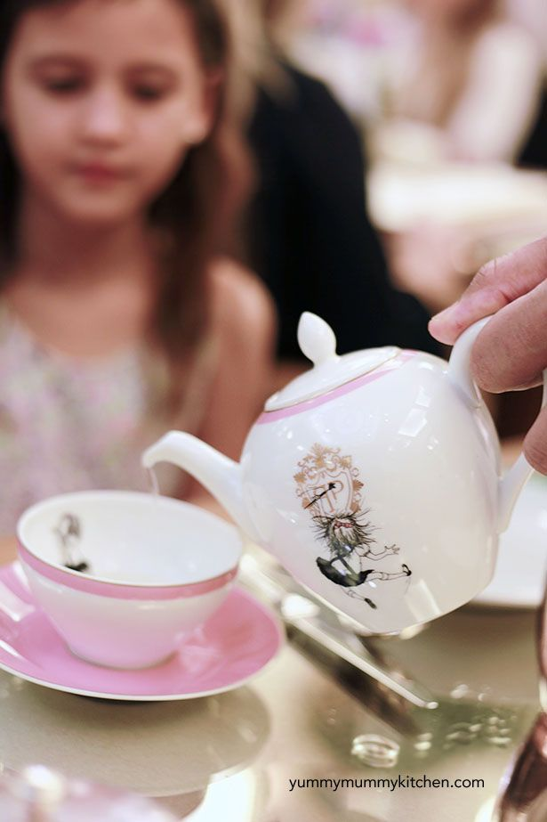 Eloise Tea at the Plaza Hotel in New York City