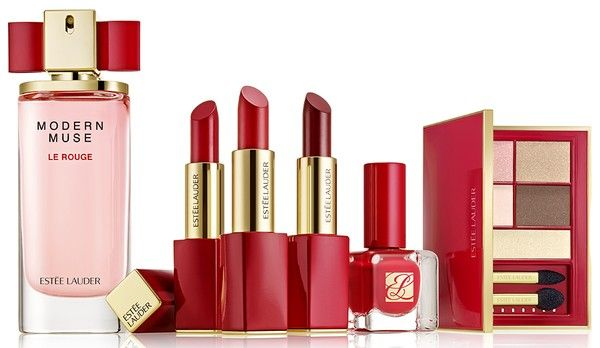 Estee Lauder Modern Muse Le Rouge Collection Holiday 2015: