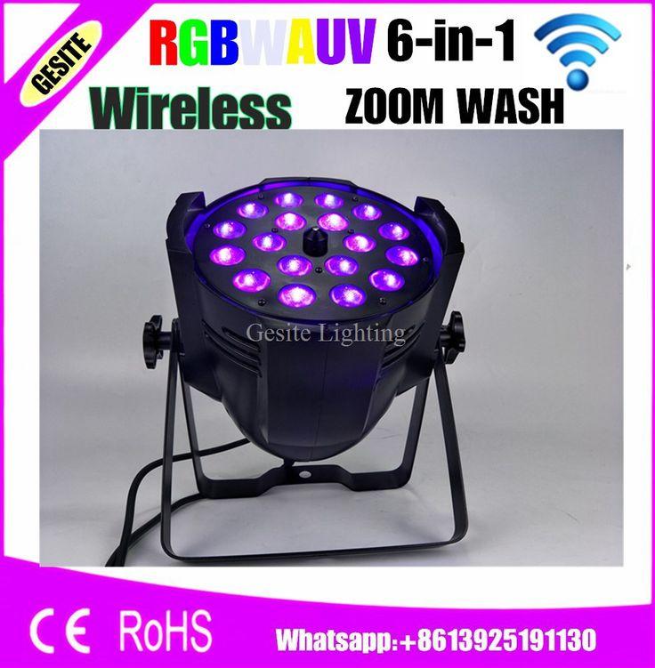18x18W RGBWA UV 6IN1 Zoom Par Light DMX 7/11 Channels Taiwan Tianxin
