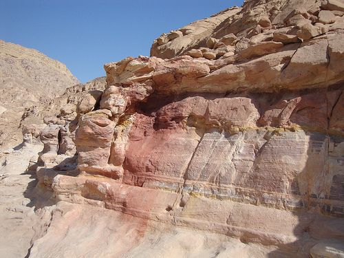 Colored Canyon, Sinaï, Egypt