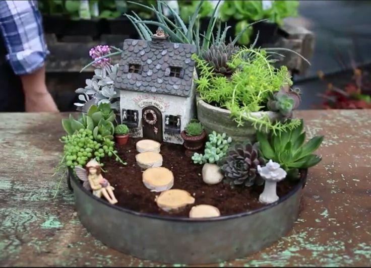 17 migliori idee su giardini in miniatura su pinterest case delle fate giardino incantato e - Giardino in miniatura ...