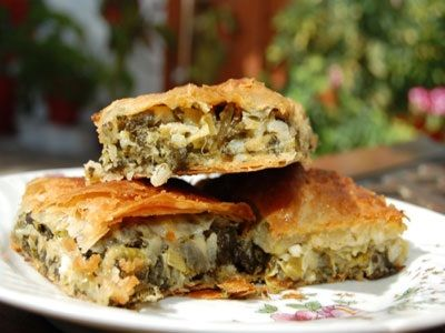 spinach pie,very healthy!