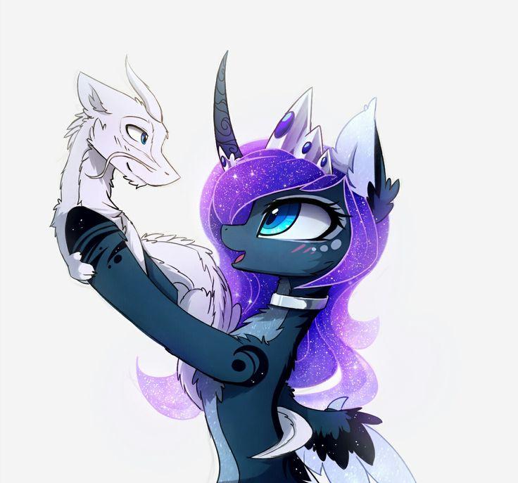 Dragons MLP: Princess Luna