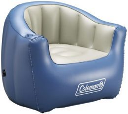 Love this comfy looking Coleman camping chair,  I would need an ottoman.