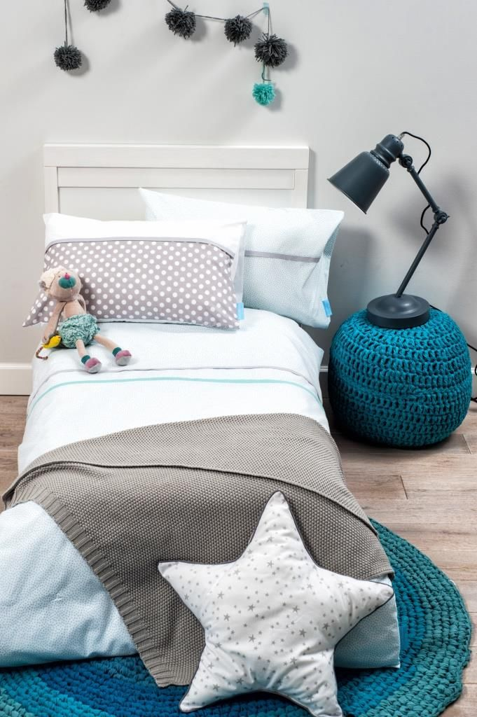 Love this little bed and accessories.  #kids #decor