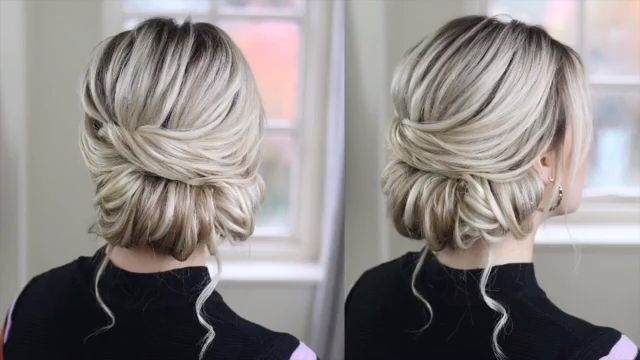 Glam Updo Styles Tutorial For Wedding!