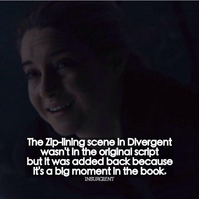 Divergent fact !