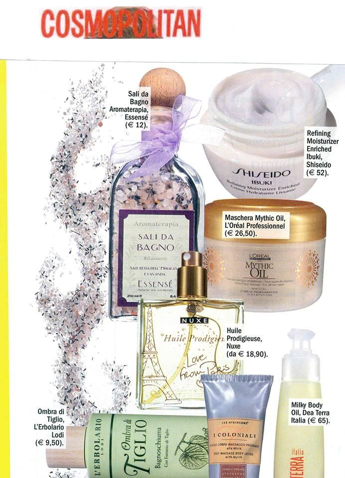 @Cosmopolitan Italia top beauty products
