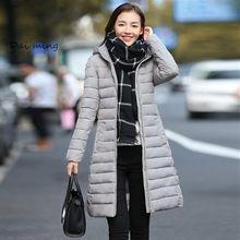 Manteau femme jacket women coat parka abrigos para mujer chaquetas de invierno y de piel jaqueta feminina parkas abajo durante 2017 largos clothings(China (Mainland))