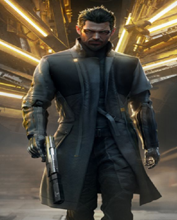 Deus Ex Adam Jensen Action Game Coat