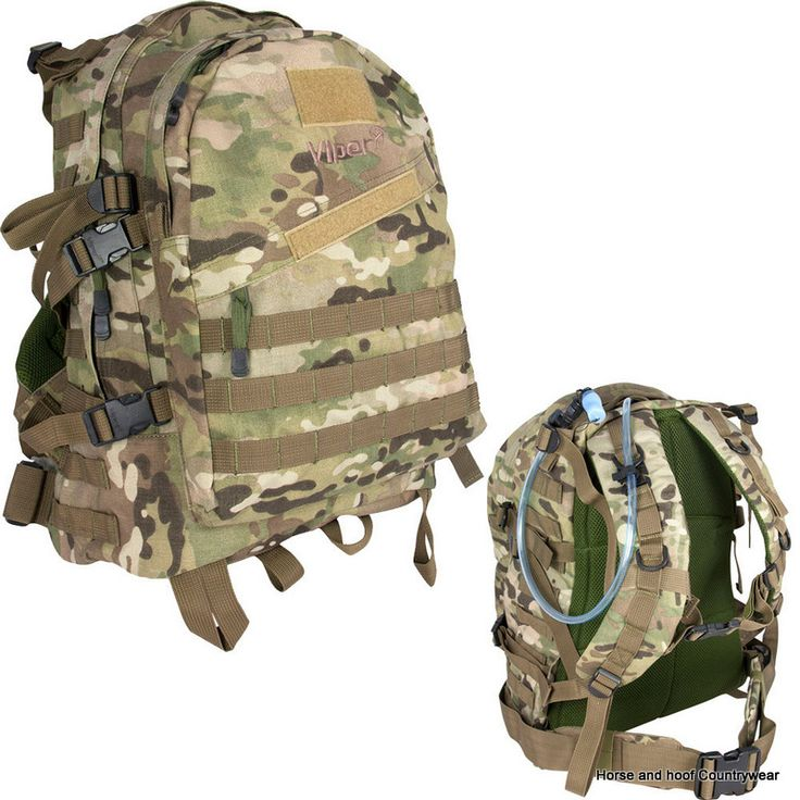 Viper Special Ops Pack - V-Cam Made using 600D Cordura with a capacity og 45 litres The Viper Special Ops Pack also features 3 zipped compartments -