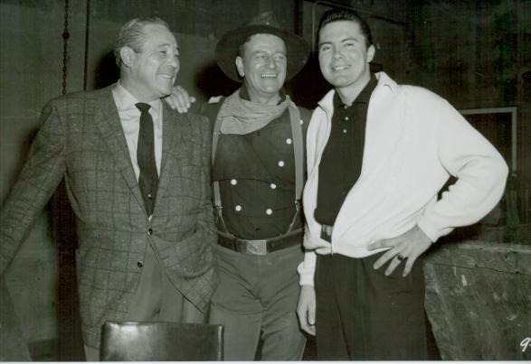 Harry Knight rodeo | Max Baer, The Butcher Boy, John Wayne and Max Baer, Jr. - Jethro from ...
