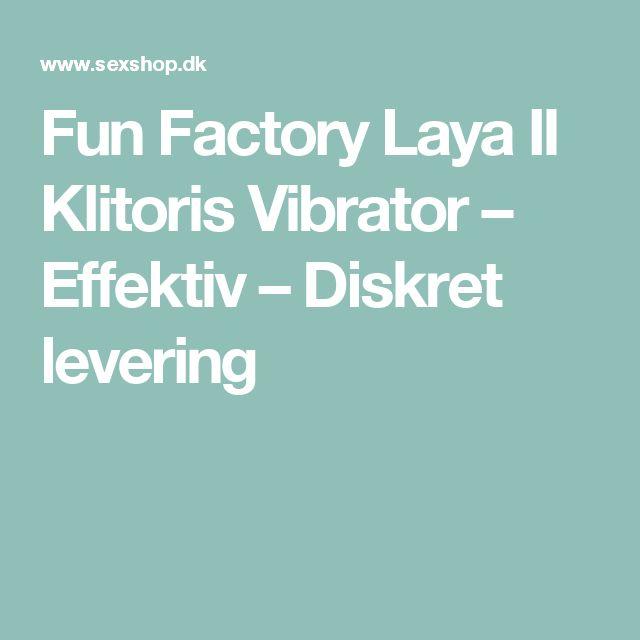 Fun Factory Laya II Klitoris Vibrator – Effektiv – Diskret levering