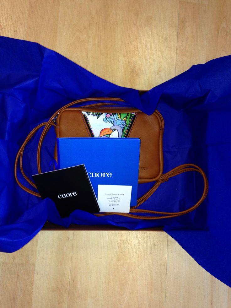 Handmade bag // 100% handmade leather // www.getcuore.com