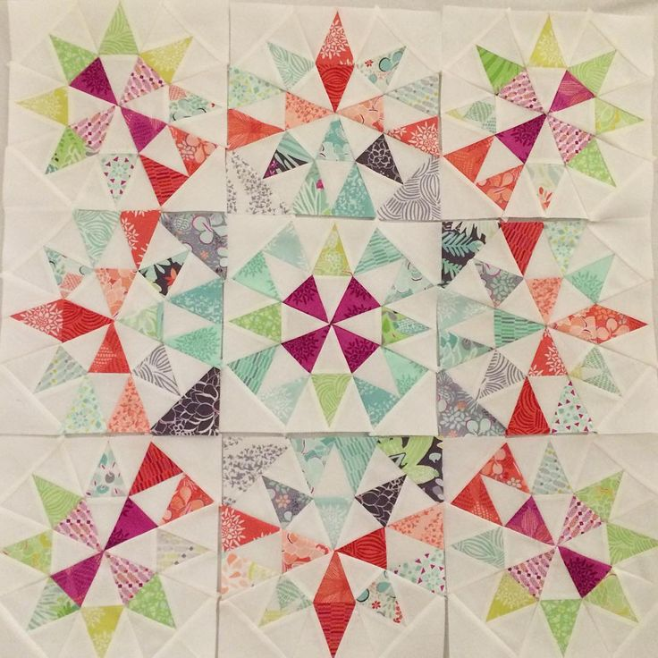 Inspired by Joyce Gieszler's grandma's surprise quilt