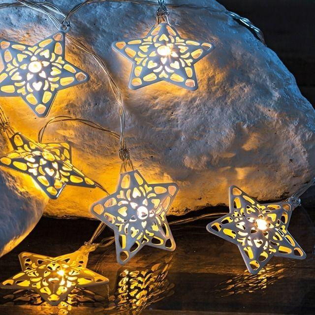 Popular  Lichterketten Sirius Sirius Home Dekorative Beleuchtung Wei Transparent Batterie Akku