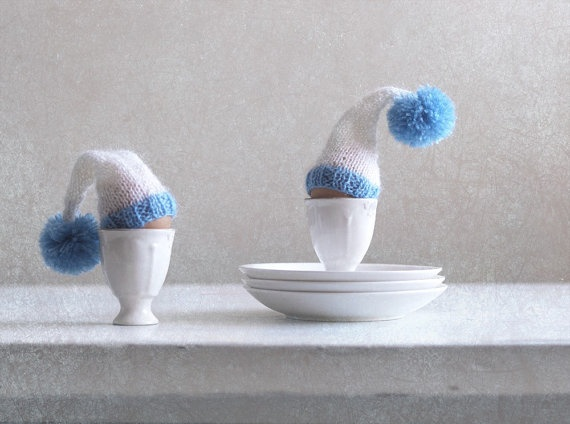 knitted egg cozy