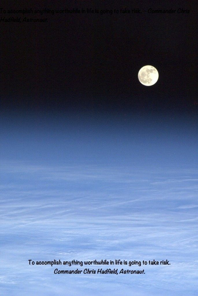 Breathtaking picture of the moon.