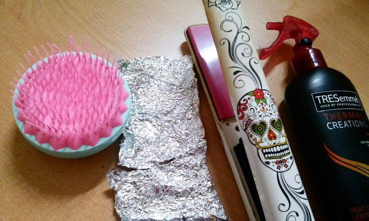 ohfanyfany: Rizos con papel aluminio