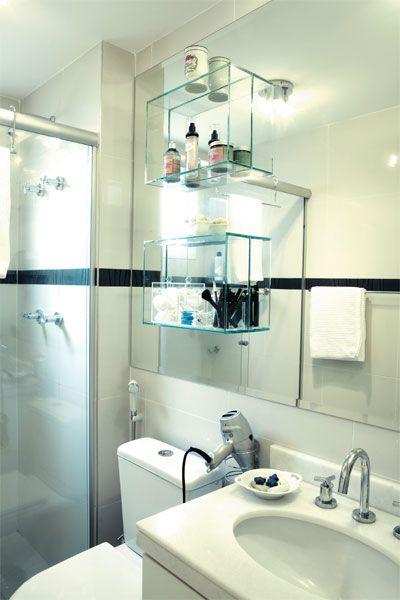 Apartamento de 95 m² personalizado na planta exibe cores acolhedoras - Casa