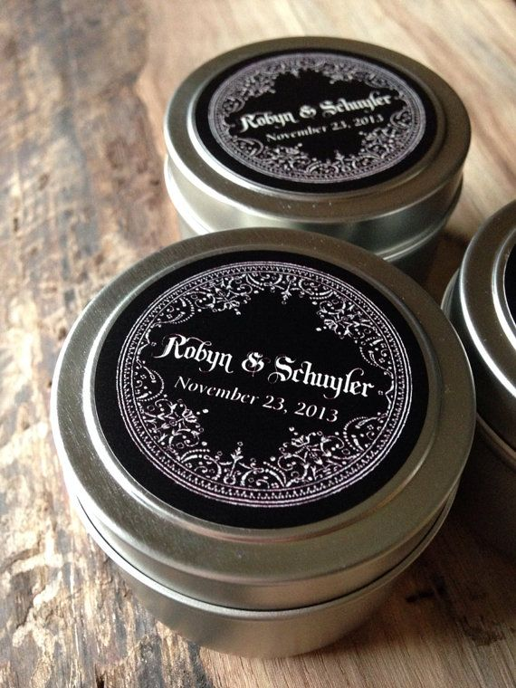 Reserved For Tiffany Wedding Favour Candles Winter Wedding Favors
