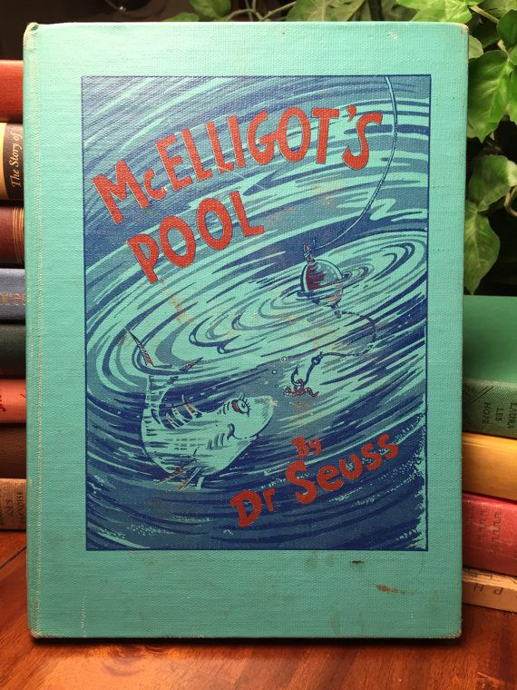 McElligot's Pool by Dr. Seuss dated 1947 first by KLOBooksAnDesign