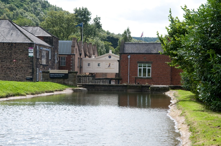 The John Smedley Mill in Derbyshire