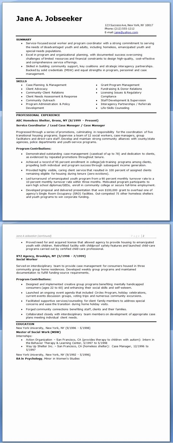 Beautiful Social Worker Resume Sample Templates Professional Resume Samples Social Worker Resume Skills