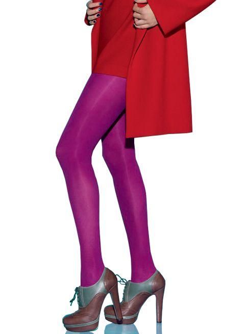 les fashion de le bourget collant opaque 50d all colors produit - Collants Opaques Colors